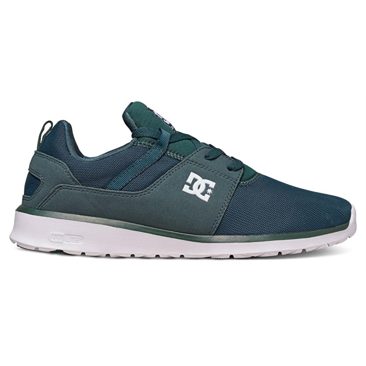 DC Heathrow Skate Shoes - Dark Green