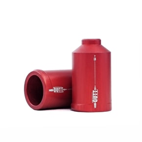 UrbanArtt Cutt Pegs - Alloy - Red