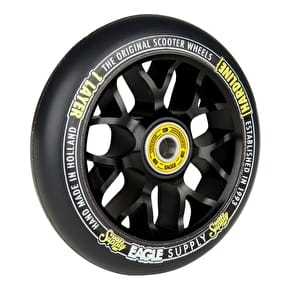 Eagle 110mm Hardline 1-Layer X6 Panther Scooter Wheel - Black/Black