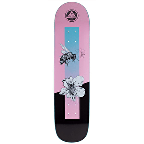 Welcome Adaption On Bunyip Skateboard Deck - Pink - 8.0