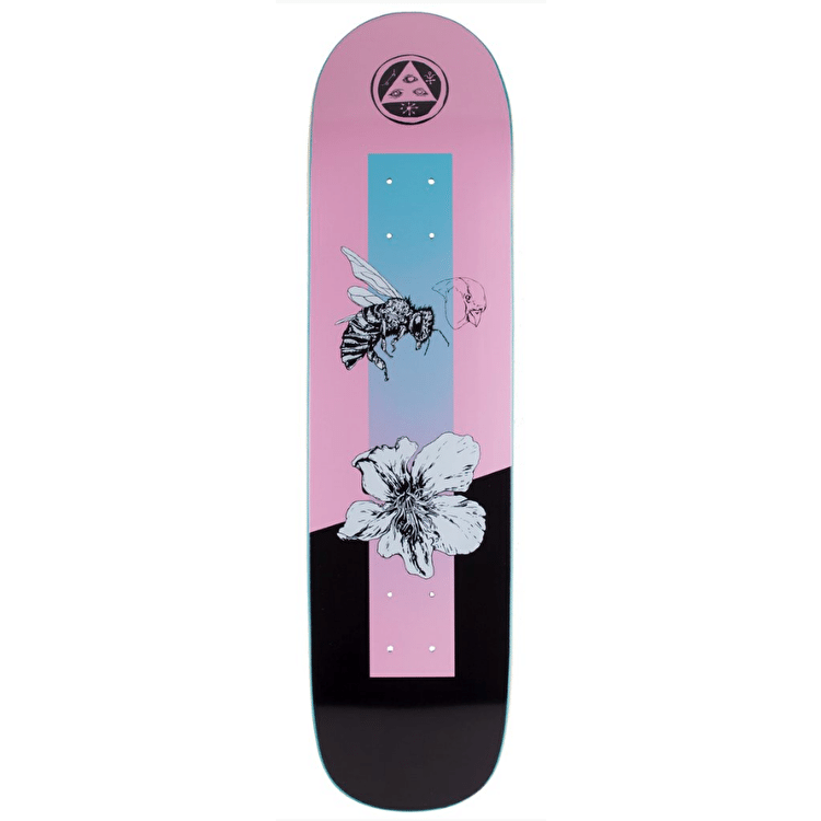 Welcome Adaption On Bunyip Skateboard Deck - Pink - 8.0""