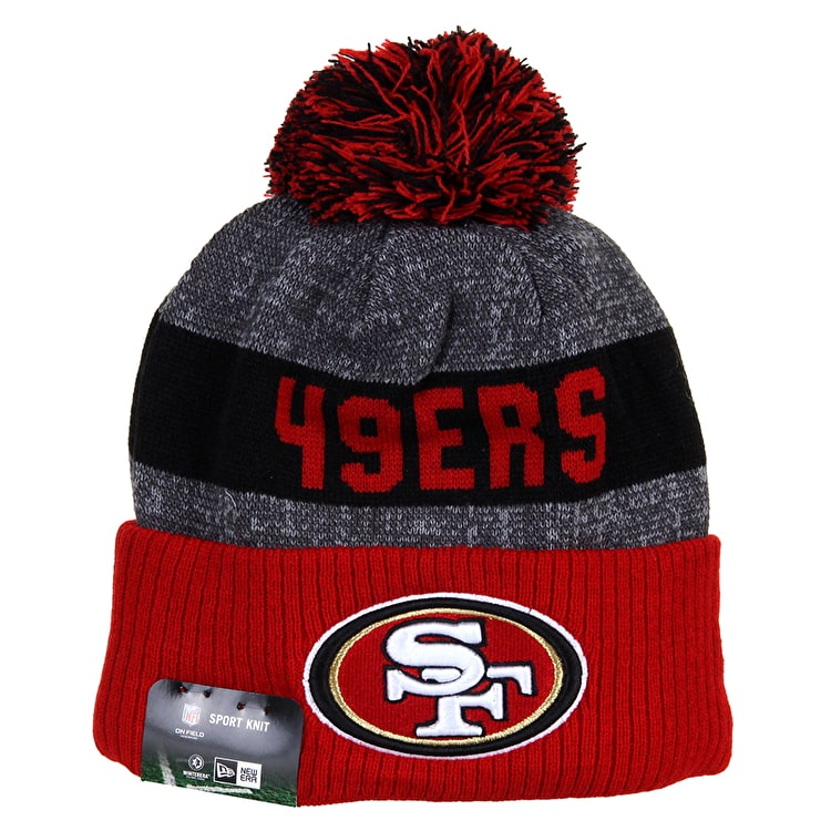 New Era Sideline Beanie - San Francisco 49ers