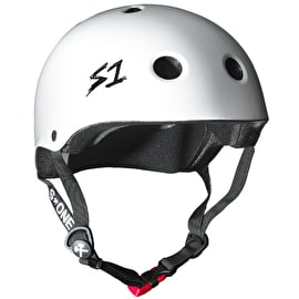S1 Lifer Kids Multi Impact Helmet - White Gloss