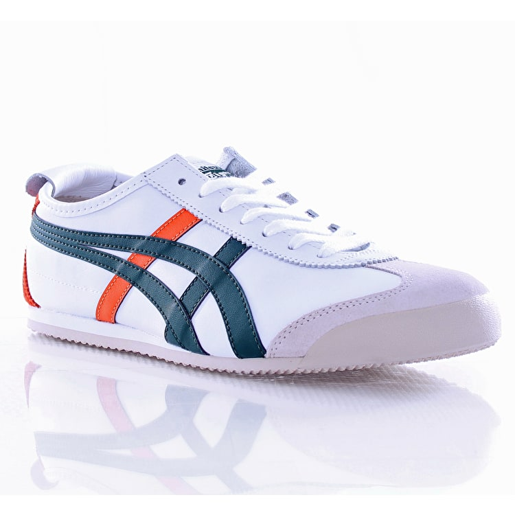 Onitsuka Tiger Mexico 66 Shoes - White/Dark Green