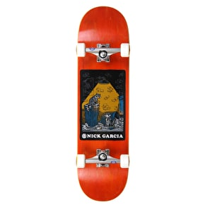 Element Second Hand Garcia Custom Skateboard 8.5