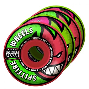Spitfire Formula Four Skateboard Wheels - Neuro Melon Mash Radial 52mm