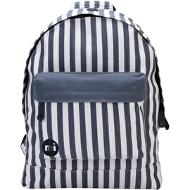 Mi-Pac Seaside Stripe Backpack - Blue
