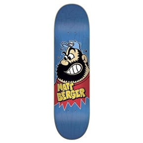 Flip Berger Beardo Pro Skateboard Deck 8