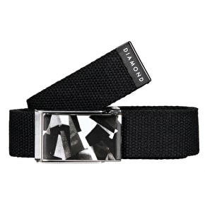 Diamond Simplicity Belt - Black