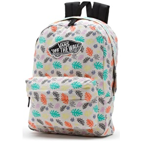Vans Realm Backpack - (Washed Kelp) Multi/White