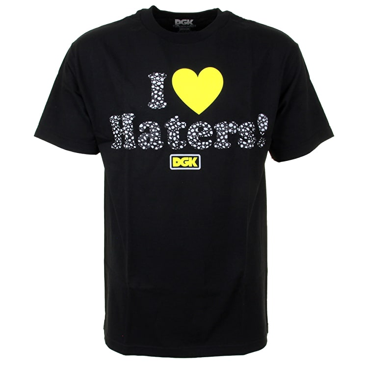 DGK Safari Haters T-Shirt - Black