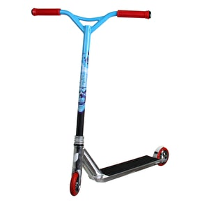 Blazer Pro Custom Scooter - Silver/Blue/Red