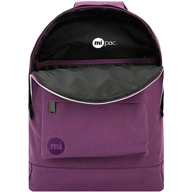 Mi-Pac Canvas Backpack - Plum
