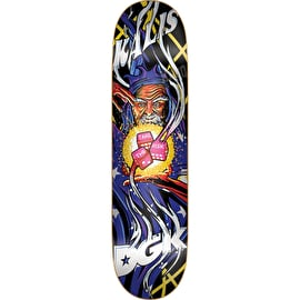 DGK Black Light Kalis Skateboard Deck 8.1