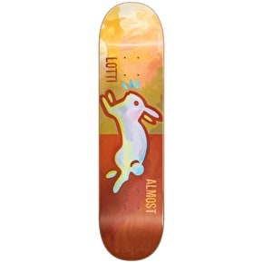 Almost Skateboard Deck - Lotti Rabbit V2 R7 Burnt Orange 8.25