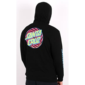 Santa Cruz Party Dot Hoodie - Black