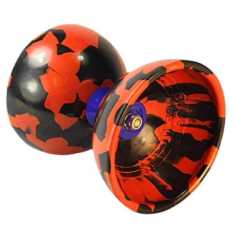 Juggle Dream Jester Diabolo Starter Pack - Black/ Red
