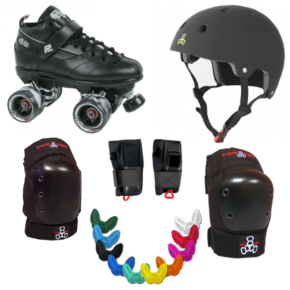 Roller Derby Intermediate Package - Sure-Grip GT-50 Triple 8