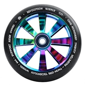 Revolution Twin Core 120mm Scooter Wheel - Neochrome