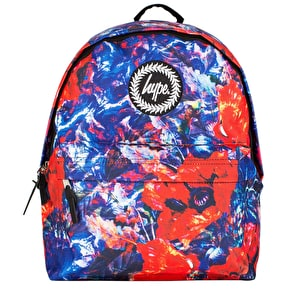 Hype Poppy Paint Backpack