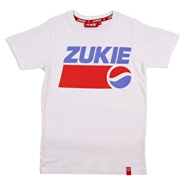 Zukie Sugar Rush Kids T Shirt - White