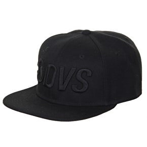 DVS Six Pannel Cap - Black
