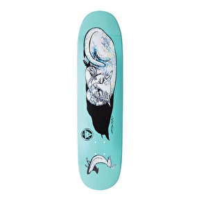 Welcome Miller Sleeping Cat On Catblood Skateboard Deck - 8.5