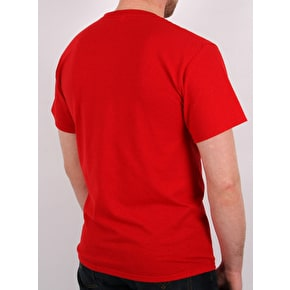 Braille New Braille Red T-Shirt - Red
