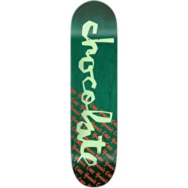 Chocolate The Original Chunk Skateboard Deck - Cruz 7.75