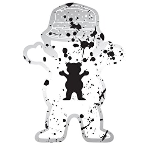 Grizzly Boo Johnson Splatter Sticker