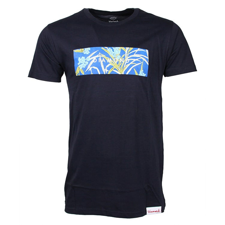 Diamond Savanna T-Shirt - Navy