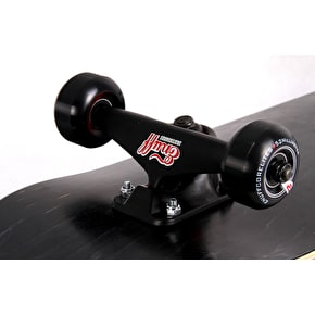 Enuff Classic Custom Skateboard - Black/Red 7.75