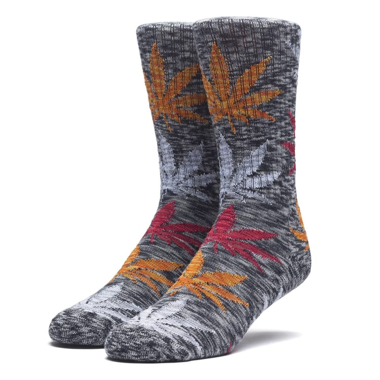Huf Full Melange Plantlife Socks - Black