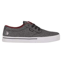Etnies Jameson 2 Eco Skate Shoes - Black Denim