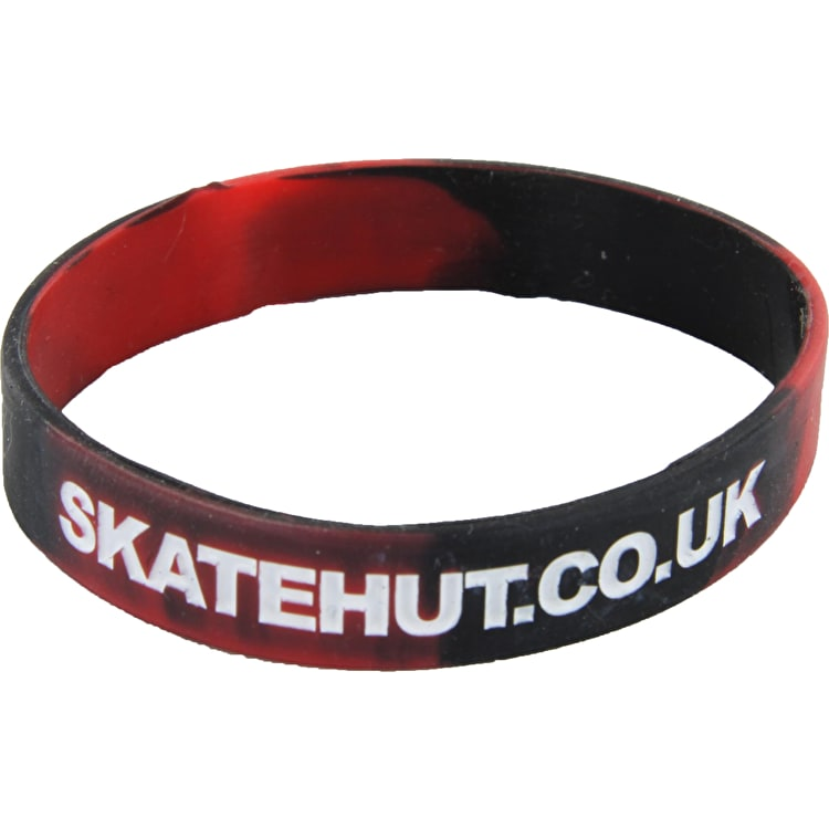 SkateHut Wrist Band - Red / Black