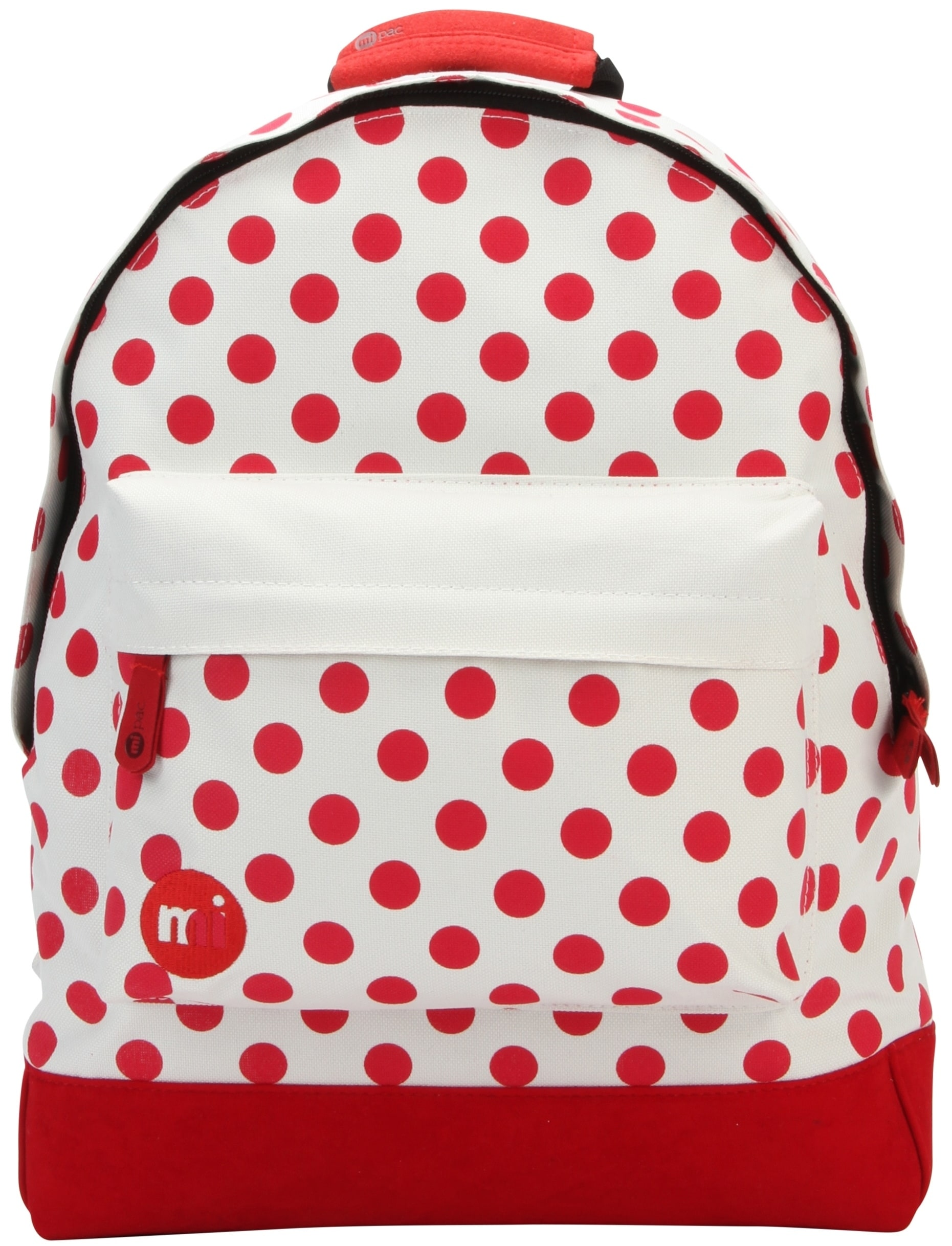 MiPac All Polkadot Backpack  NaturalRed