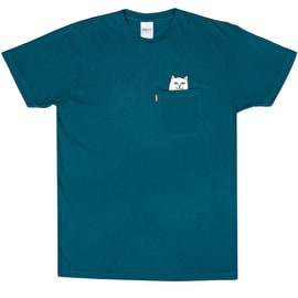 RIPNDIP Lord Nermal Pocket T Shirt - Aqua