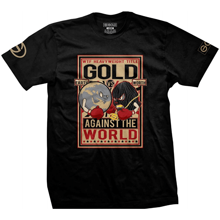 Gold Heavyweights T-Shirt - Black