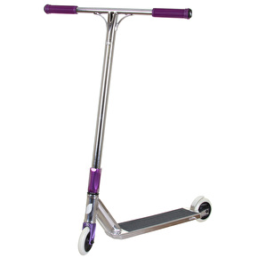 Blazer Pro x UrbanArtt Custom Scooter - Chrome/Purple