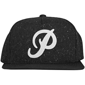 Primitive Classic P Atlantic Snapback Cap - Black