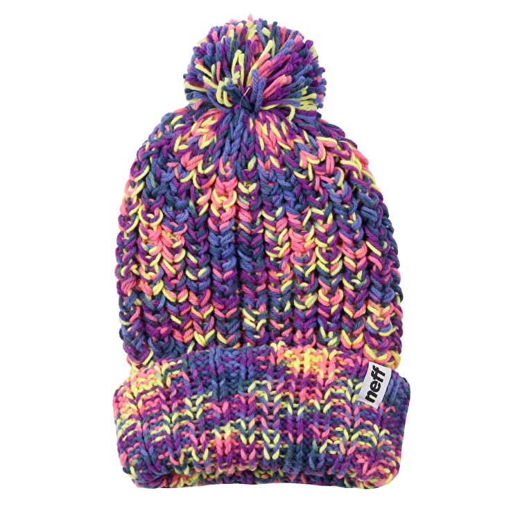 Neff Space Womens Beanie - Purple Pink  448c119fc