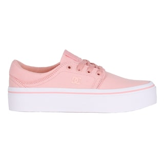 DC Trase Platform Skate Shoes - Rose