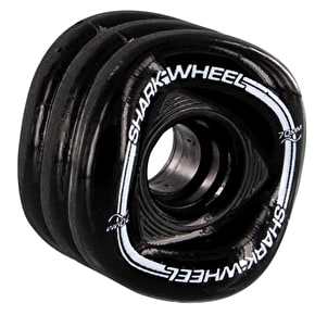 Shark Wheel Sidewinder 70mm 80A Longboard Wheels - Black