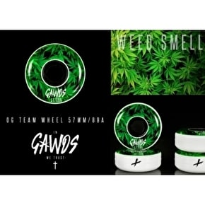 Gawds Team Weed Aggressive Skate Wheels 57mm/89A
