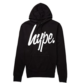 DO NOT USE Hype Script Hoodie - Black/White
