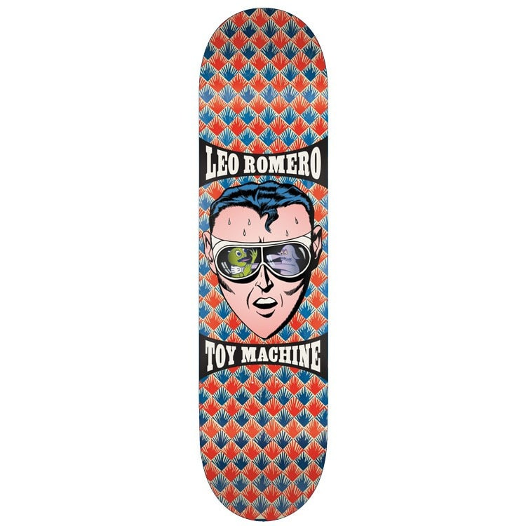 Toy Machine Romero Stressed Skateboard Deck - 8.125""