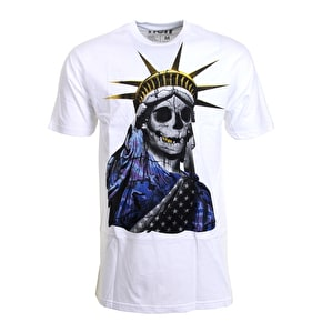 Neff Lady Liberty T-Shirt - White