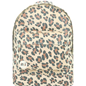Mi-Pac Leopard Pony Backpack - Tan