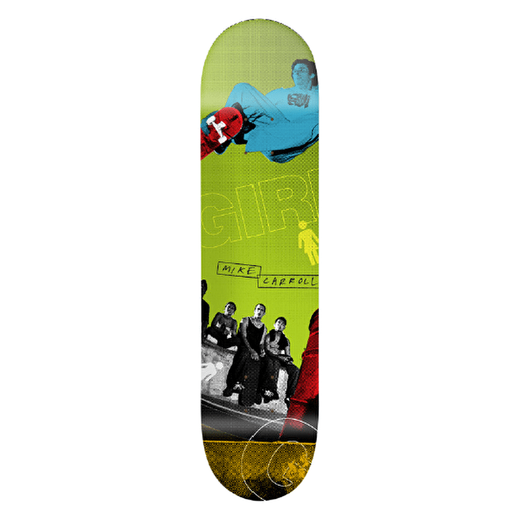 Girl 20/20 Skateboard Deck - Carroll 8.125""