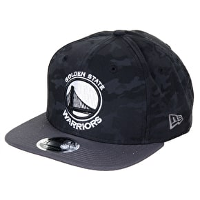 New Era 9FIFTY NBA Golden State Warriors Cap - Camo/Grey
